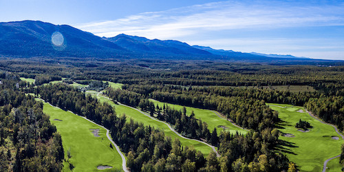 Moose Run Golf Course - Creek